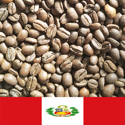 Peruvian flag coffee