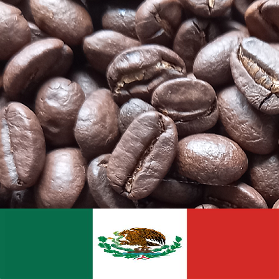 Mexican Flag and Coffee